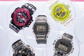 G-SHOCK復古透明感腕表再次襲來!重現讓人著迷的80年代風潮