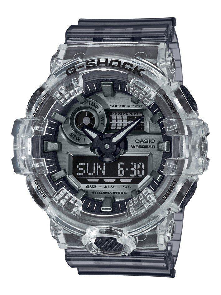 G-Shock GA-700SK-1A腕表4,200元。圖/Casio提供
