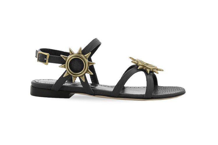 NEDDA平底涼鞋,48,800元。圖/Manolo Blahnik提供