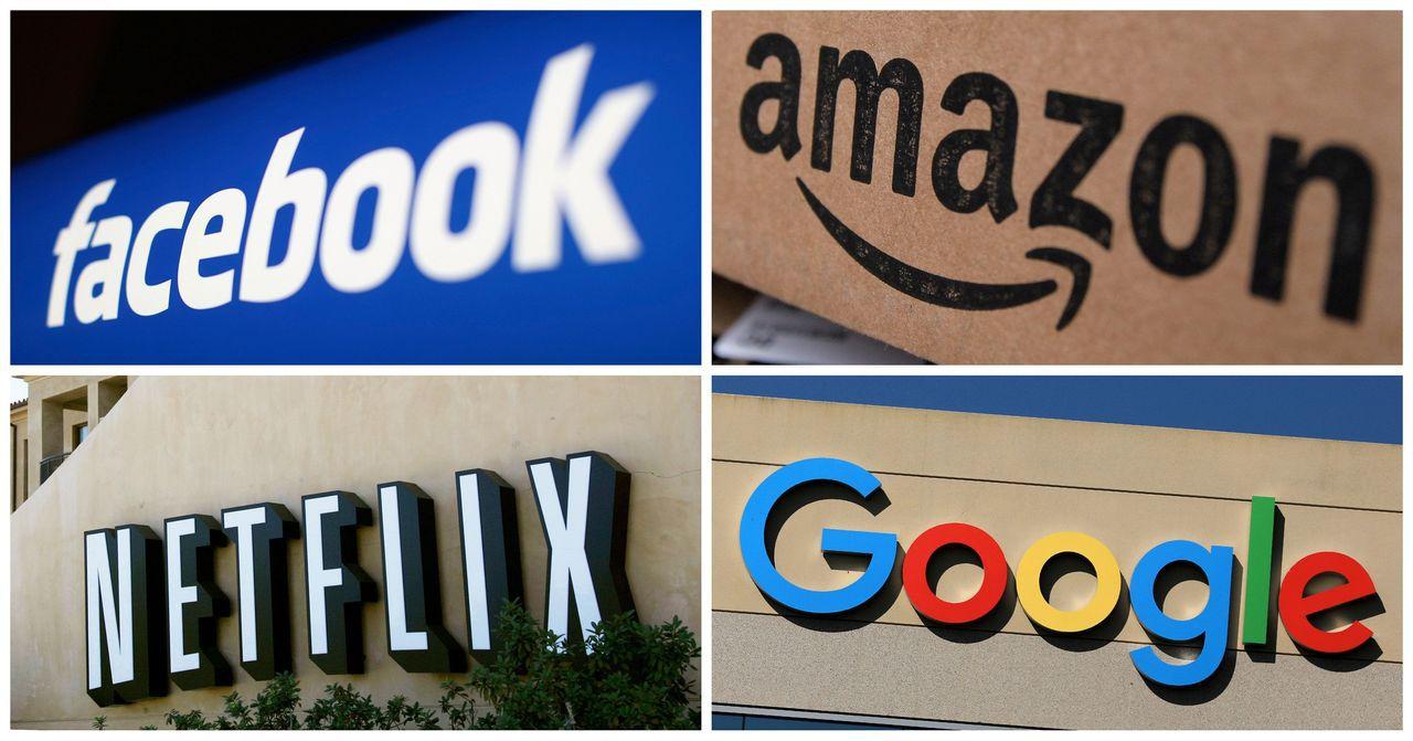 分析師認為,投資Netflix和亞馬遜的風險比Google小,而臉書長期而言仍值...
