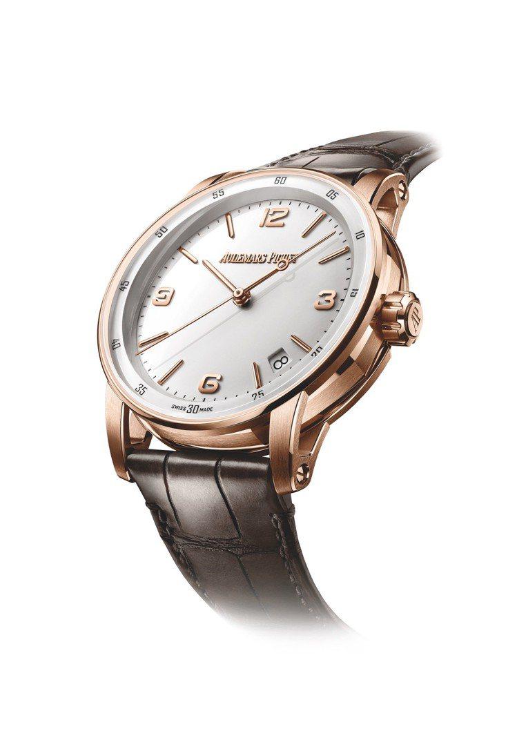 愛彼Code 11.59系列自動上鍊腕表,41毫米玫瑰金表殼、4302自動上鍊機...