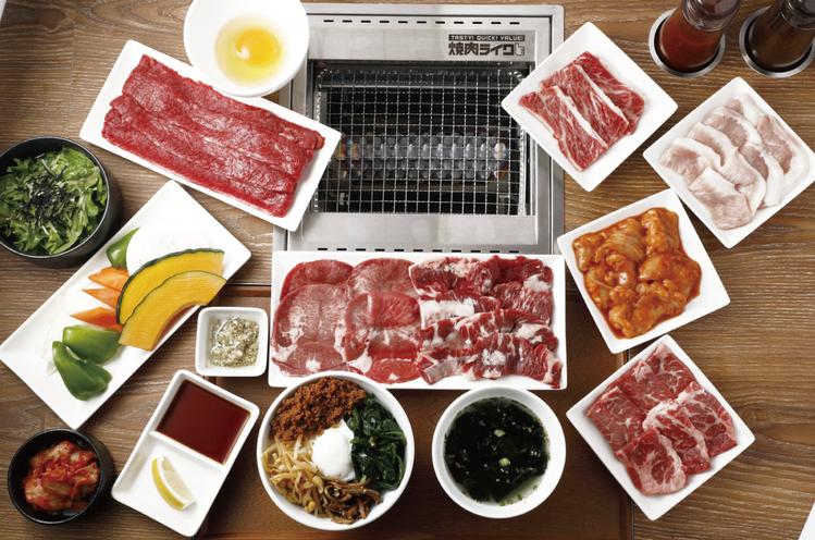 來自日本的燒肉LIKE,強調提供單人也能輕鬆享用燒肉。圖/燒肉LIKE提供