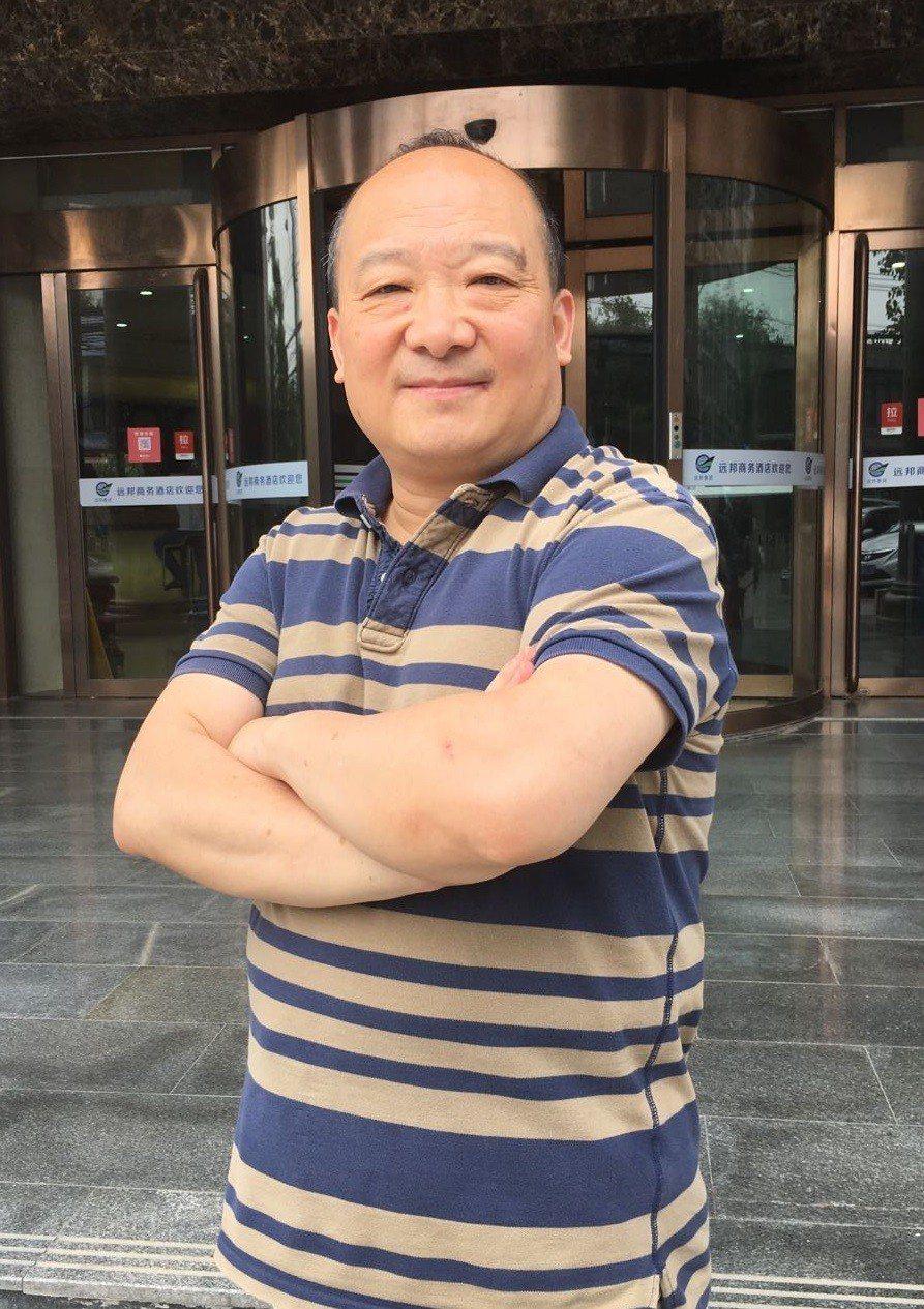 旅美大陸學者李毅。特派記者林庭瑤/攝影