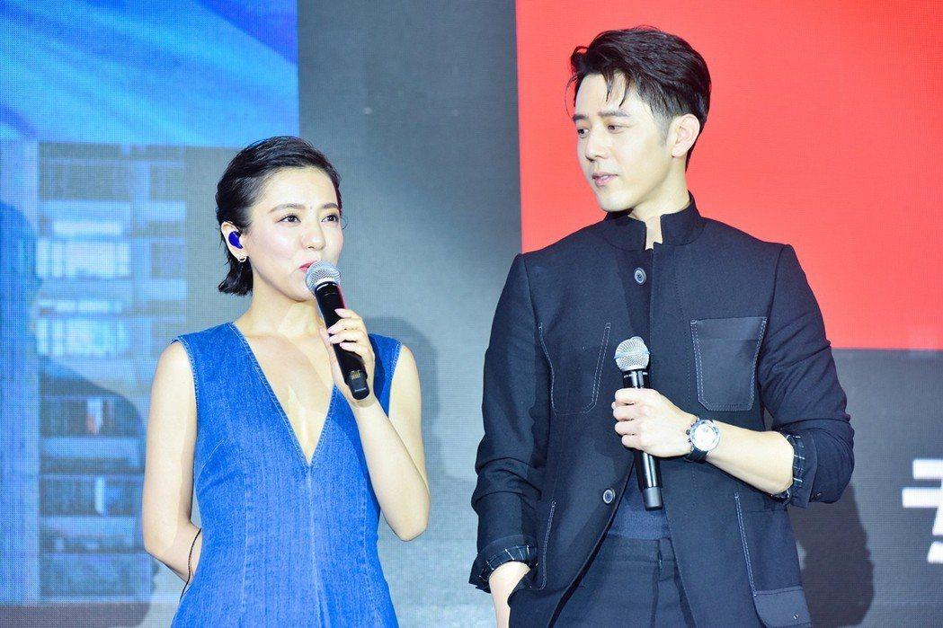 丁噹北京發片記者會,胡宇威站台。圖/相信音樂提供