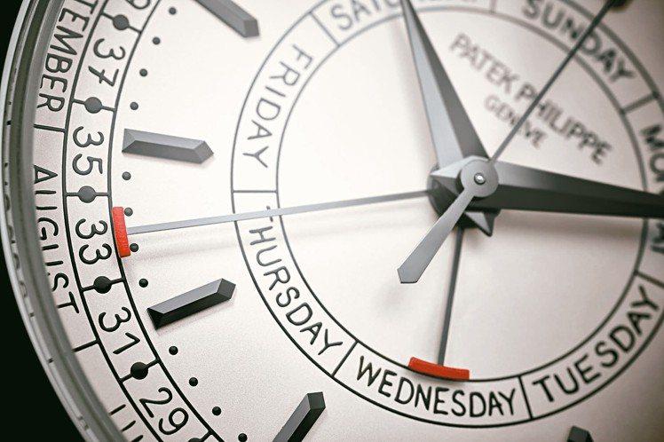 百達翡麗發表搭載全新機芯的Calatrava Ref. 5212A-001周曆不...