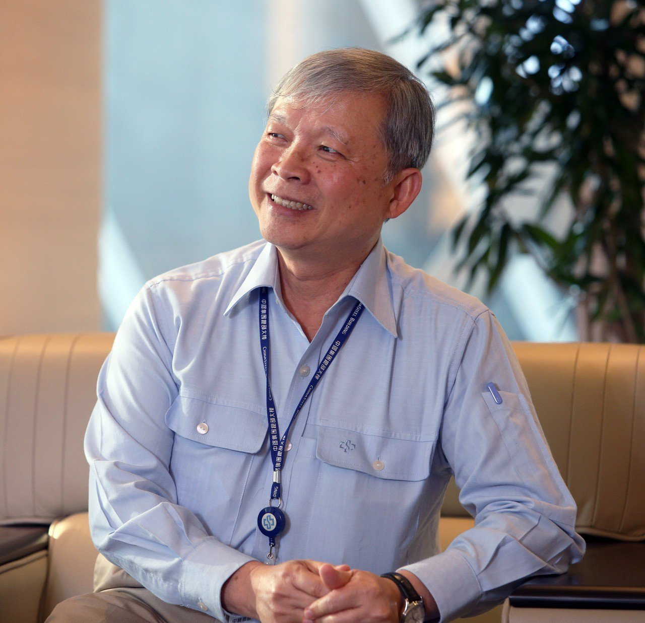 現任總經理林弘男將於30日卸任。 圖/聯合報系資料照片