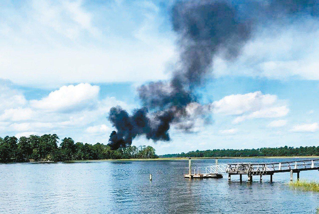號稱人類史上戰力最強美軍F-35B戰機,去年9月南卡羅來納州飛行訓練時墜毀,是F...