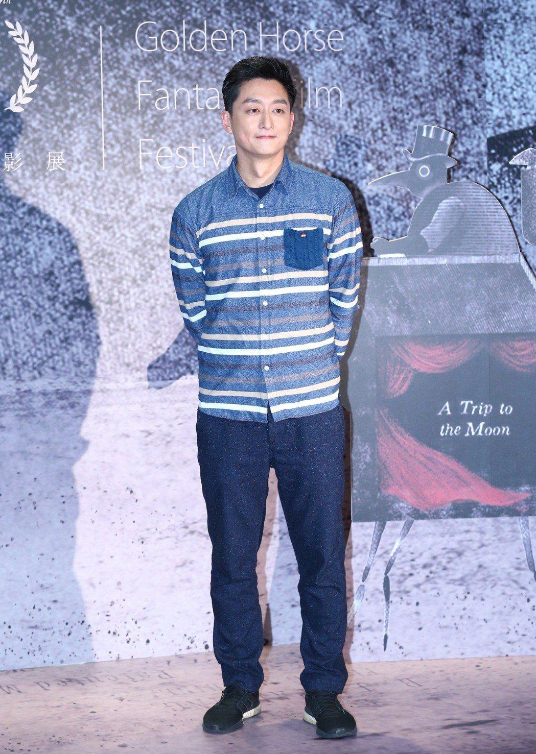 金馬奇幻影展開幕片「大體臨門」首映,主要演員柯宇綸出席宣傳。記者王騰毅/攝影