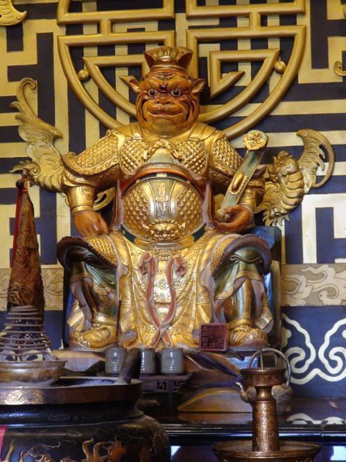 台中外埔的義虎堂以祭拜虎爺為主。  圖/聯合報系資料照片