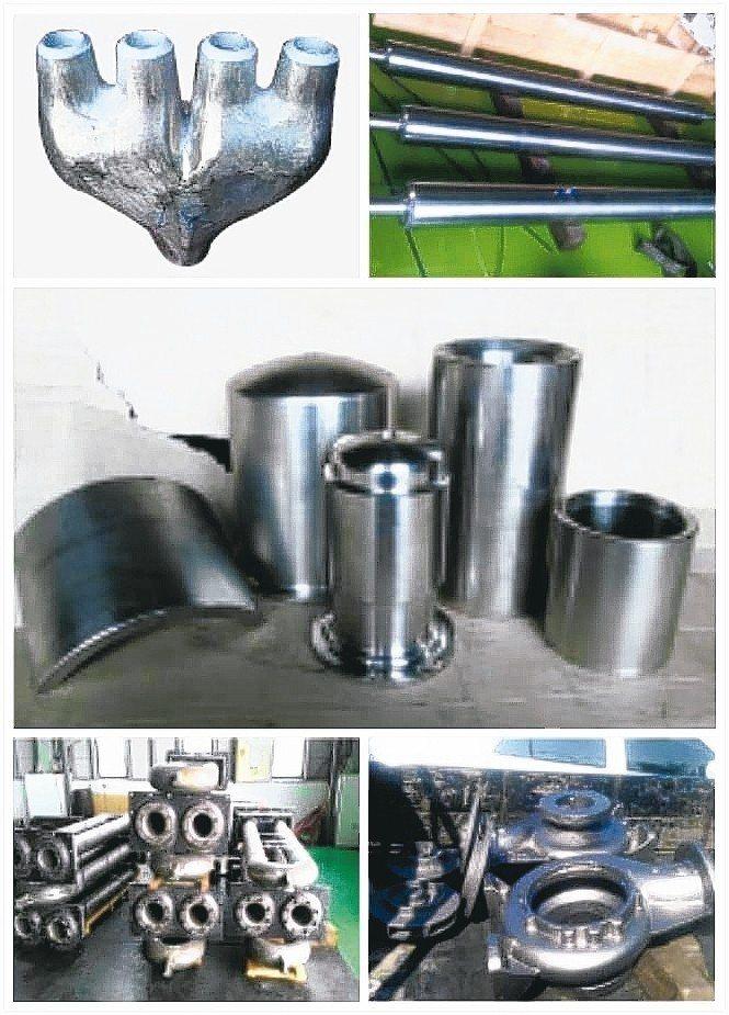 精工鑄造的特殊合金金屬品實績。 精工/提供