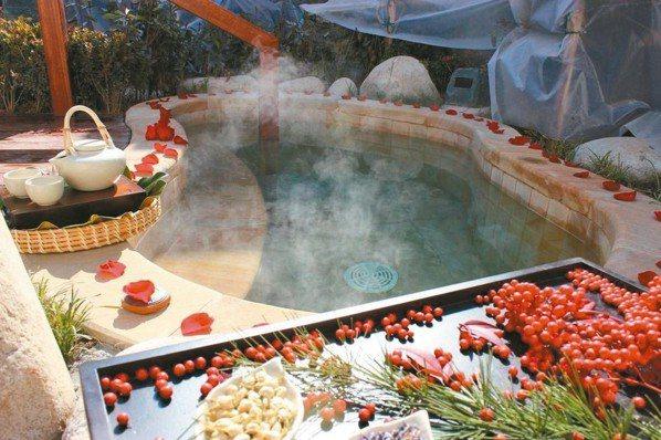 西安臨潼悅椿溫泉酒店適合泡湯,發思古之悠情。 圖/悅榕集團