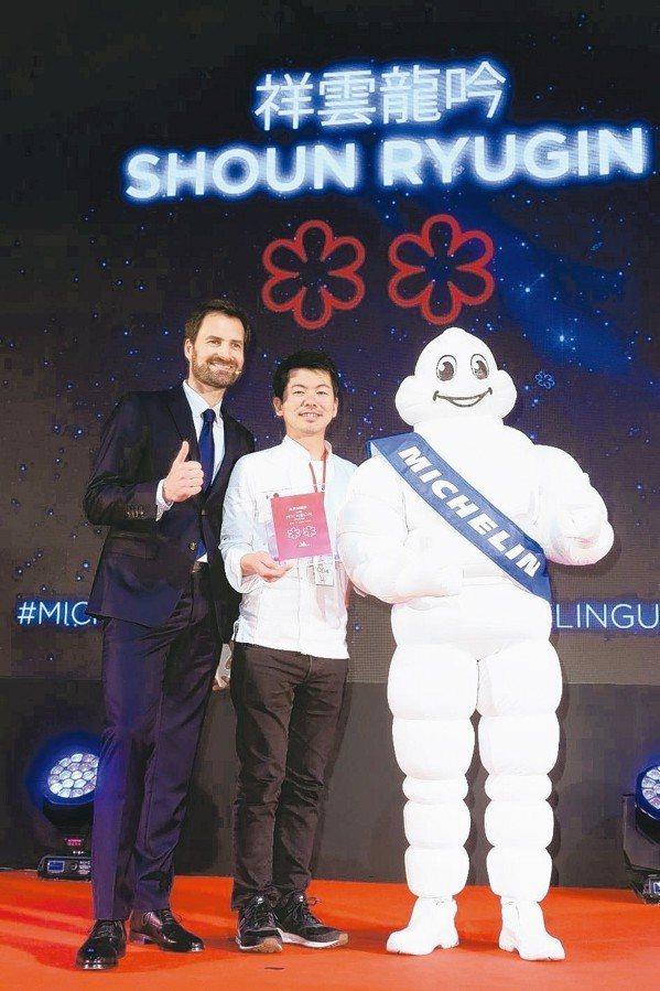 祥雲龍吟獲得2019台北米其林二星殊榮。 記者陳立凱/攝影