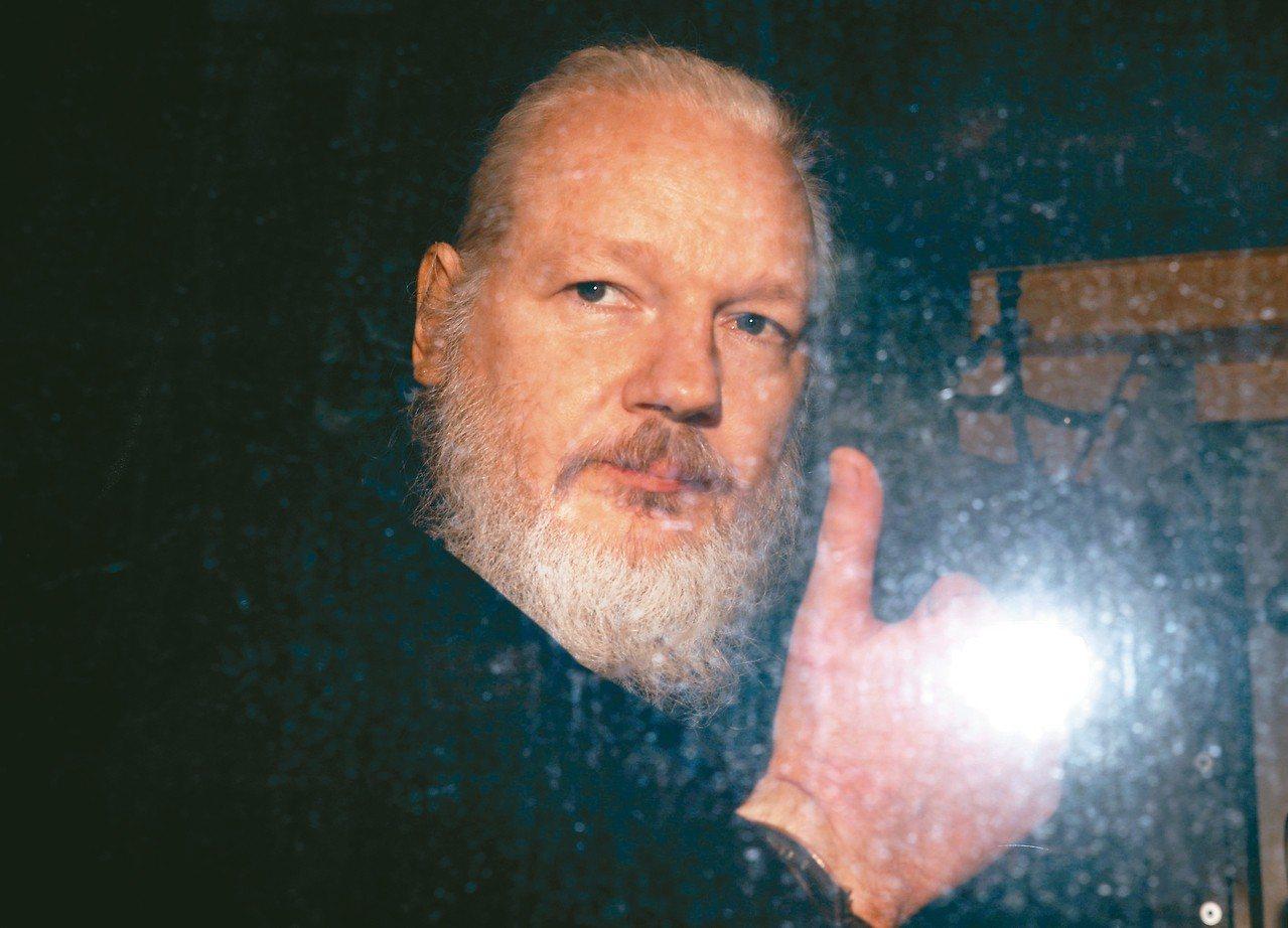 維基解密網站創辦人亞桑傑。 路透