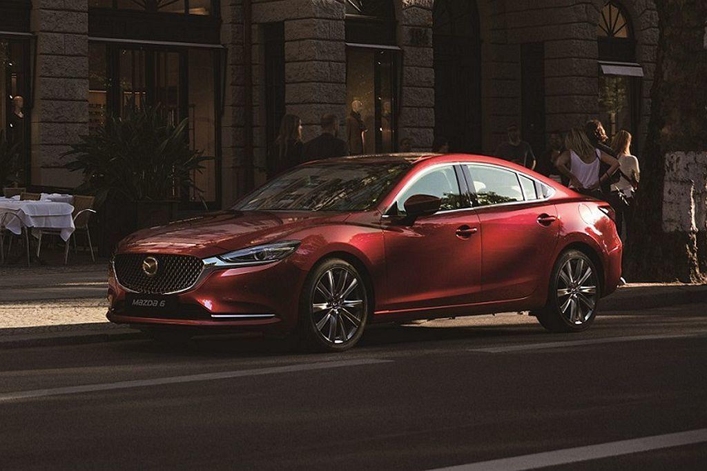 Mazda 6房車下一代似乎要改為後驅底盤設定。 摘自Mazda