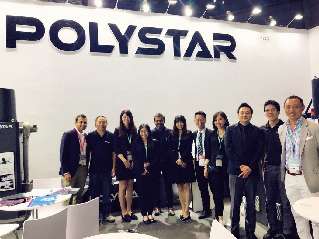 「POLYSTAR」品牌行銷全球,團隊更朝「極簡回收」趨勢發展。 業者/提供