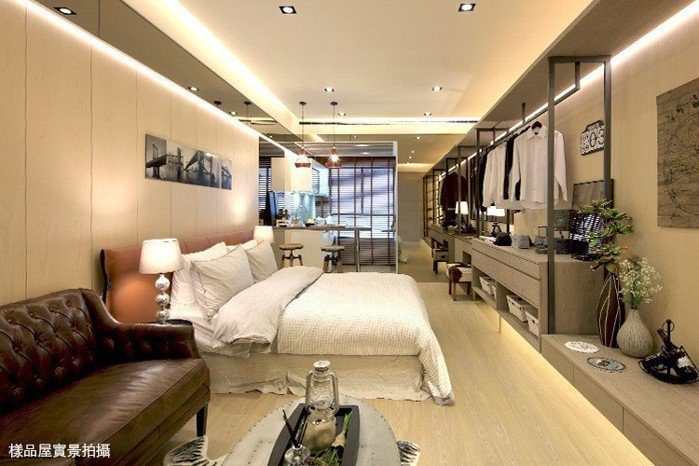 新潤興業A18的套房產品格局精緻,更祭出包租5年方案。