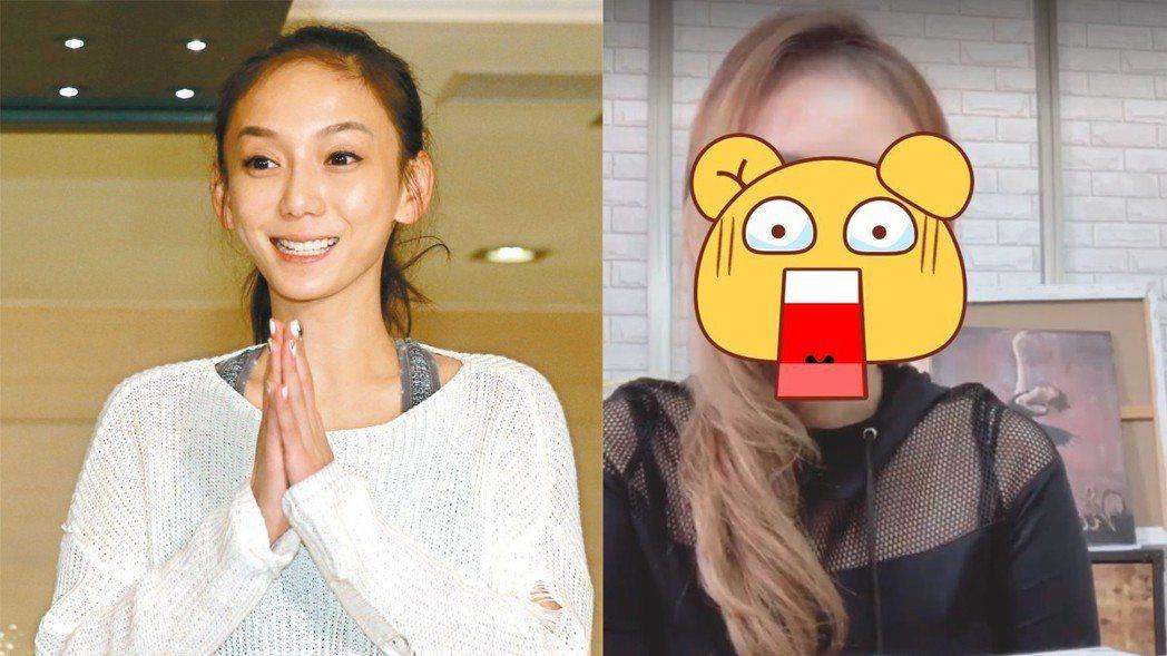 劉喬安因吸毒鼻中膈穿孔,整形面貌讓人認不出。圖/聯合報系資料照、擷自臉書