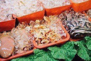 生鮮食材 (攝影/鄭弘敬)