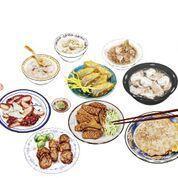慈聖宮早市美食 (圖/魚夫)