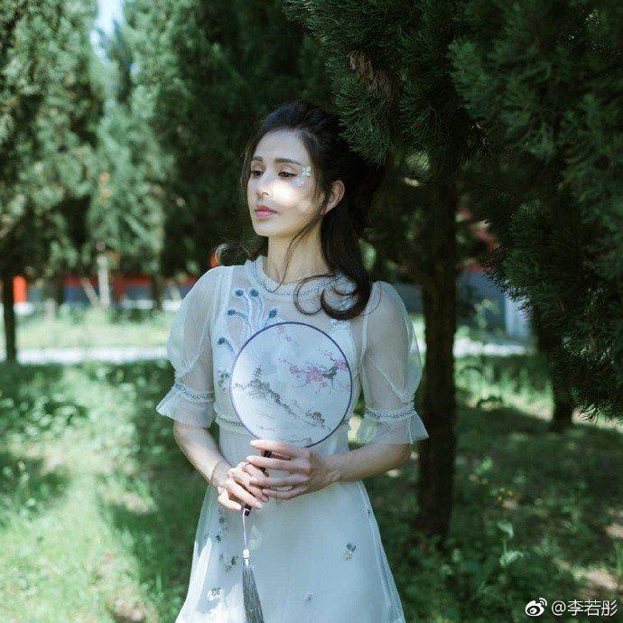 李若彤。圖/摘自微博