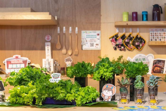 生態環境綠色生產也是主題之一。圖/桃園市政府新聞處提供