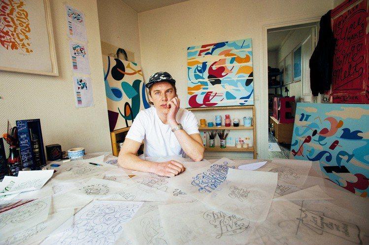藝術家Pieter Ceizer。圖/YUN YUN SUN提供