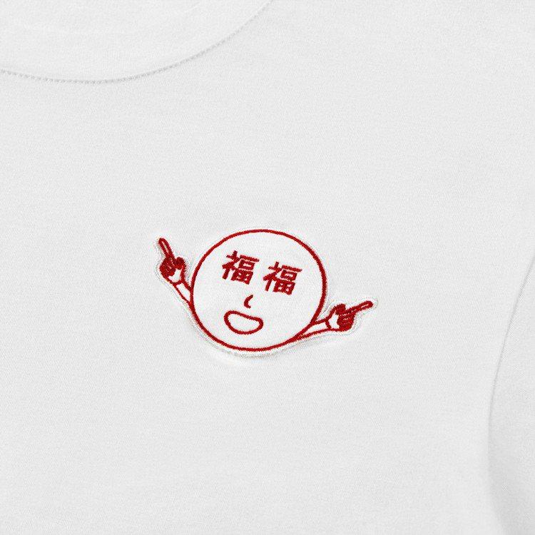 Ceizer x YUN YUN SUN「福福」笑臉圖案。圖/YUN YUN S...