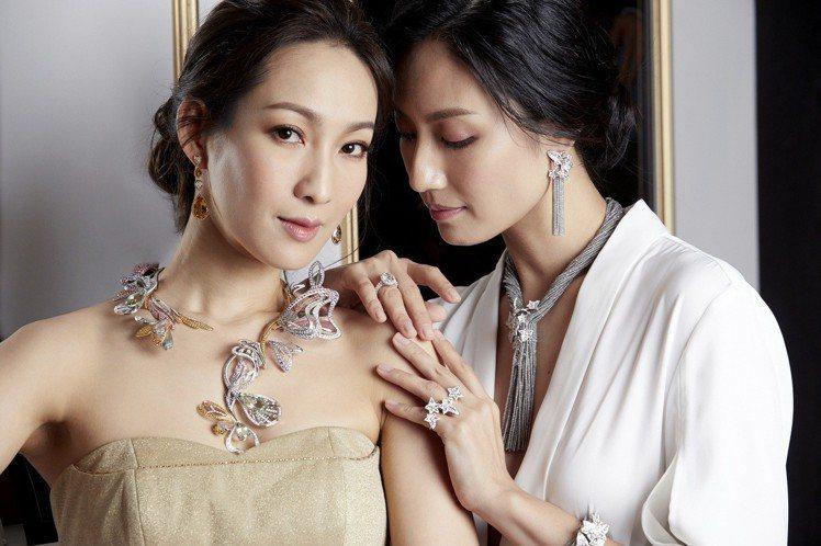 以問號項鍊為主題的寶詩龍頂級珠寶展,即日起至5月底止於臺灣各專賣店巡展。圖/寶詩...