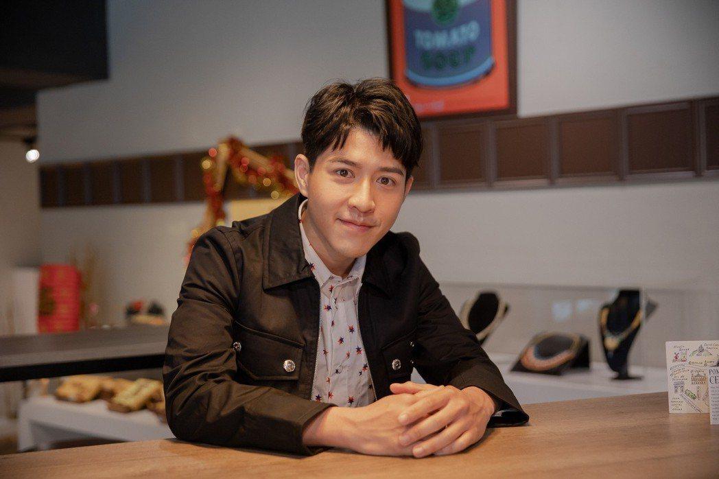 吳岳擎主演「如果愛.重來」一度壓力很大。圖/歐銻銻娛樂提供