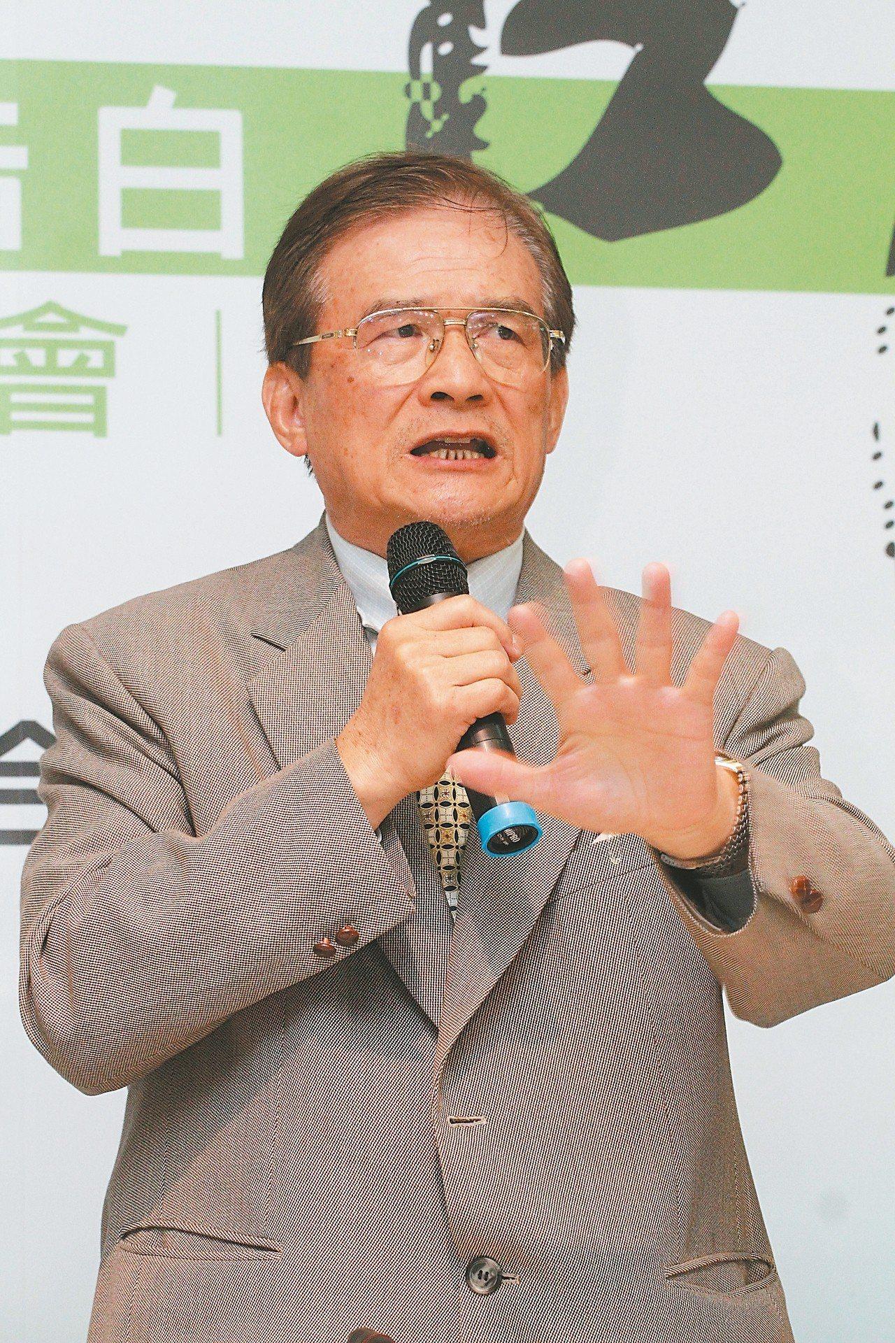 國防部前部長蔡明憲。 圖/聯合報系資料照片