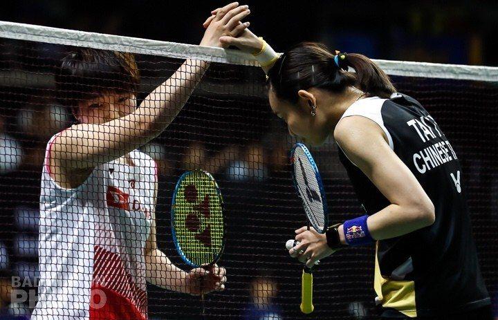 戴資穎新加坡公開賽四強擊敗山口茜。圖/Badminton photo