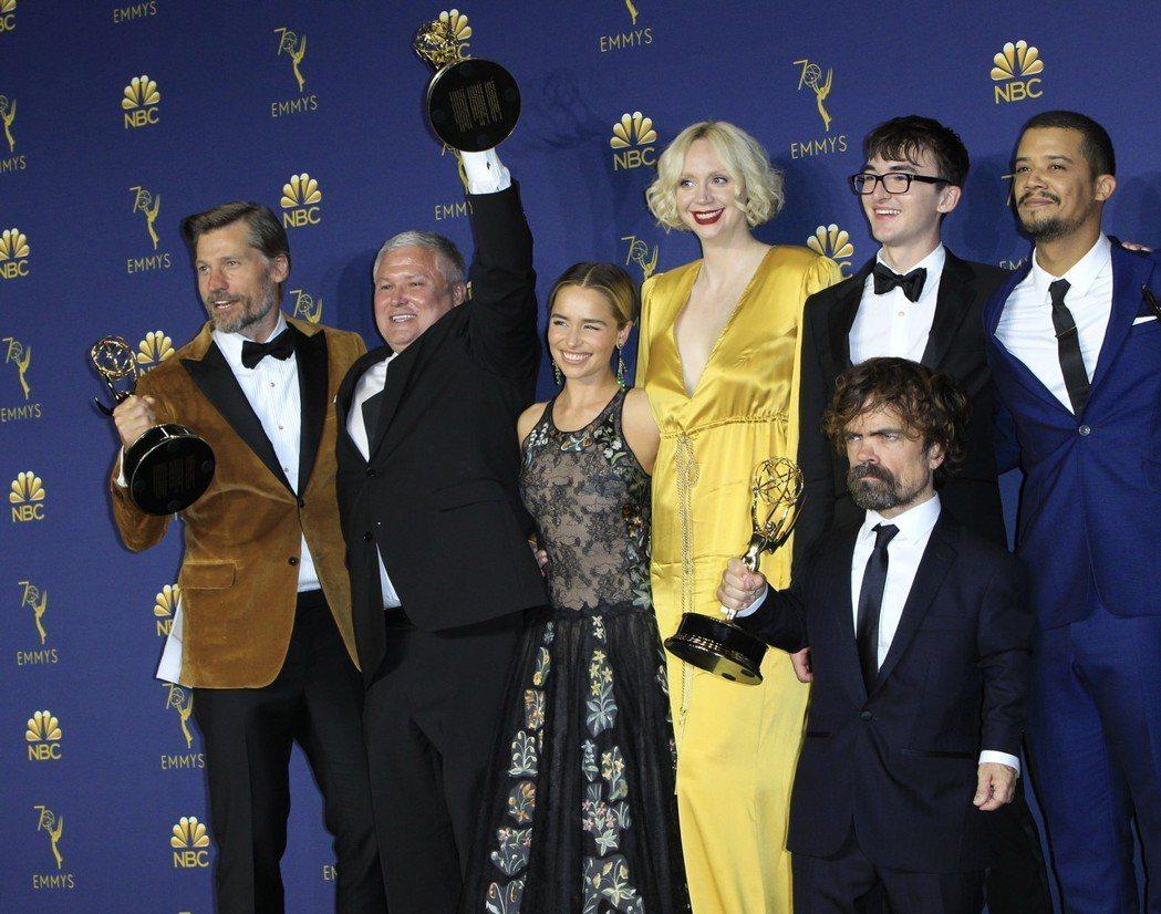 HBO「權力遊戲」打破所有紀錄,這五項令人咋舌。圖/歐新社