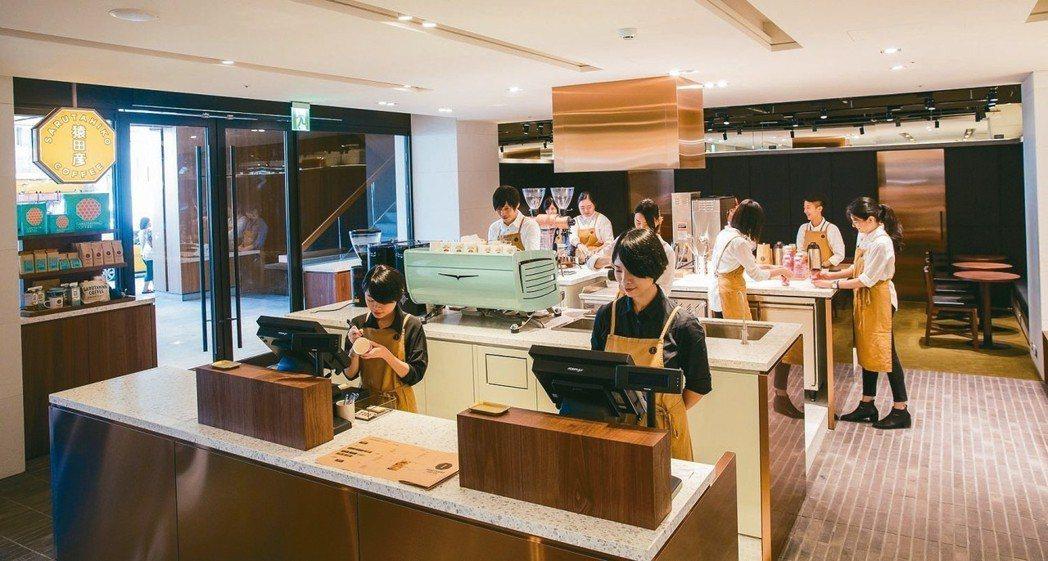 南西商圈也有多家咖啡廳進駐,對粉領族更具吸引力。圖為猿田彥珈琲海外一號店 圖/誠...