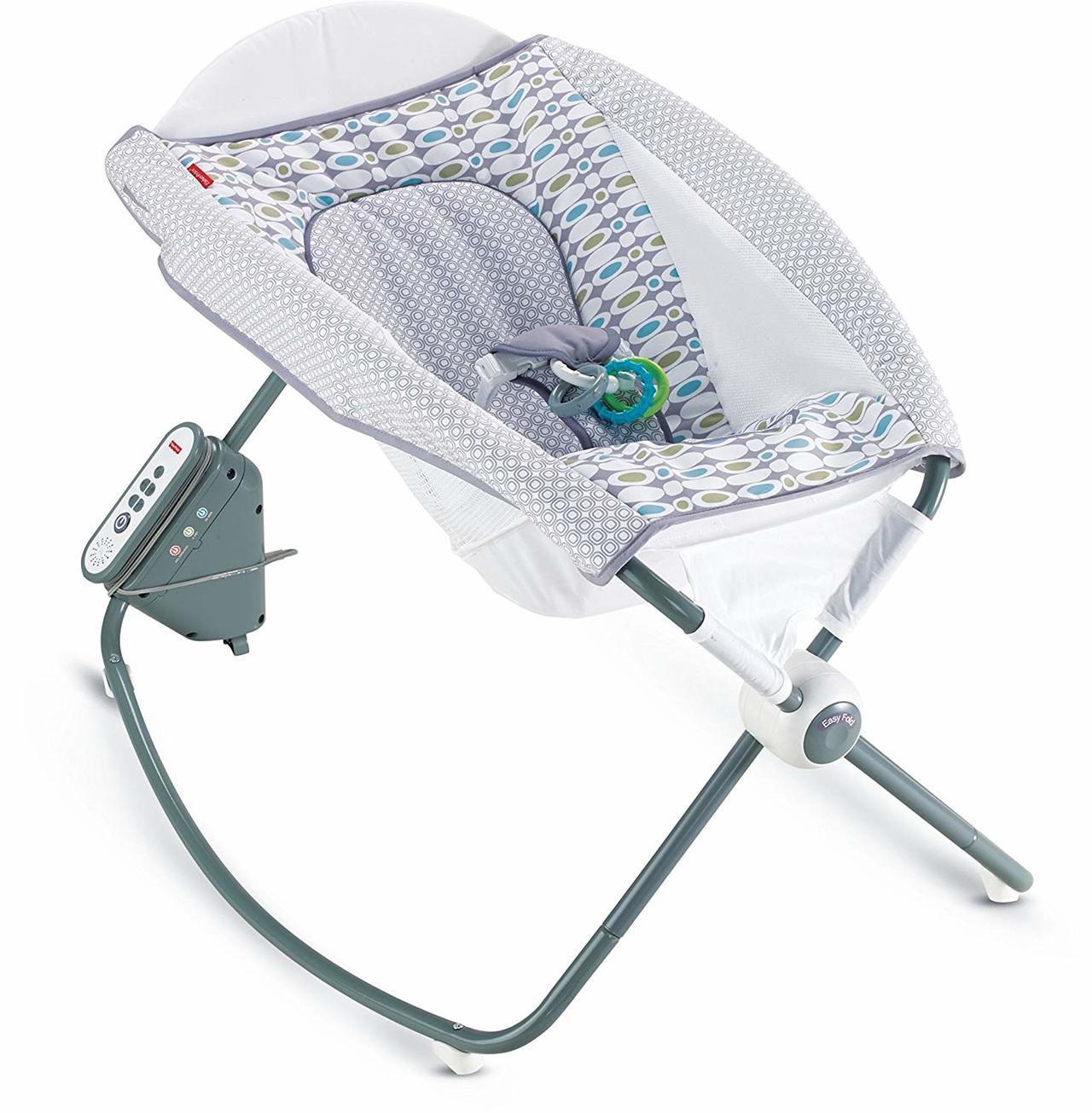 銷售頗佳的嬰兒搖籃兼遊戲床(Rock n Play Sleeper),由於設計不...