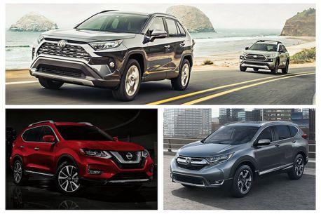 新Toyota RAV4美國銷售失利!第一季銷量被Nissan Rogue、Honda CR-V超車