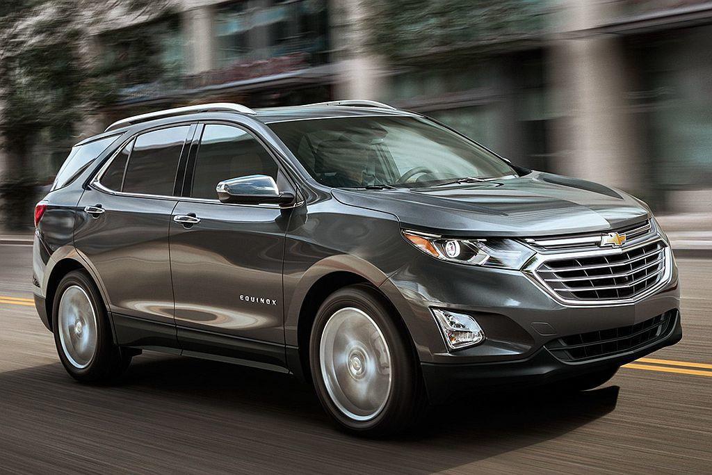 美國Chevrolet推出的Equinox休旅車銷售表現亮眼,今年首季一舉衝上第...