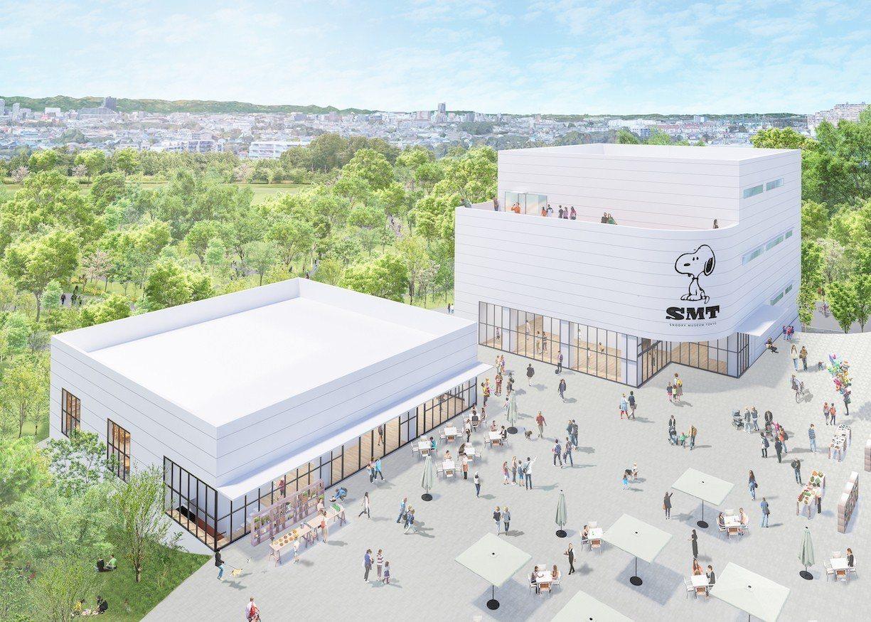 史努比博物館預計在今年秋天重新開幕,這次面積比過去大2倍。圖/摘自史努比博物館官...