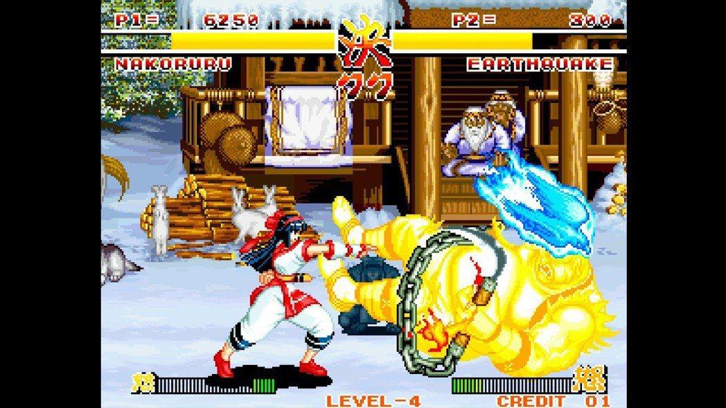 1993年在大型電玩機台上初次登場的侍魂,其怒氣計的設計可說是獨步所有2D格鬥遊...