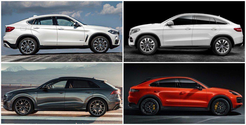 這四款德系豪華Coupe SUV,你比較喜歡哪台呢?