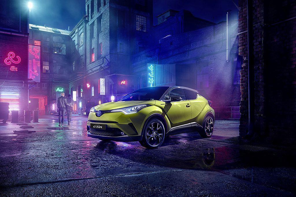 Toyota C-HR Neon Lime特仕車僅限量發售2,000輛。 圖/T...