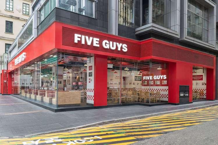 前總統歐巴馬最愛Five Guys在香港開亞洲首店。圖/Five Guys提供