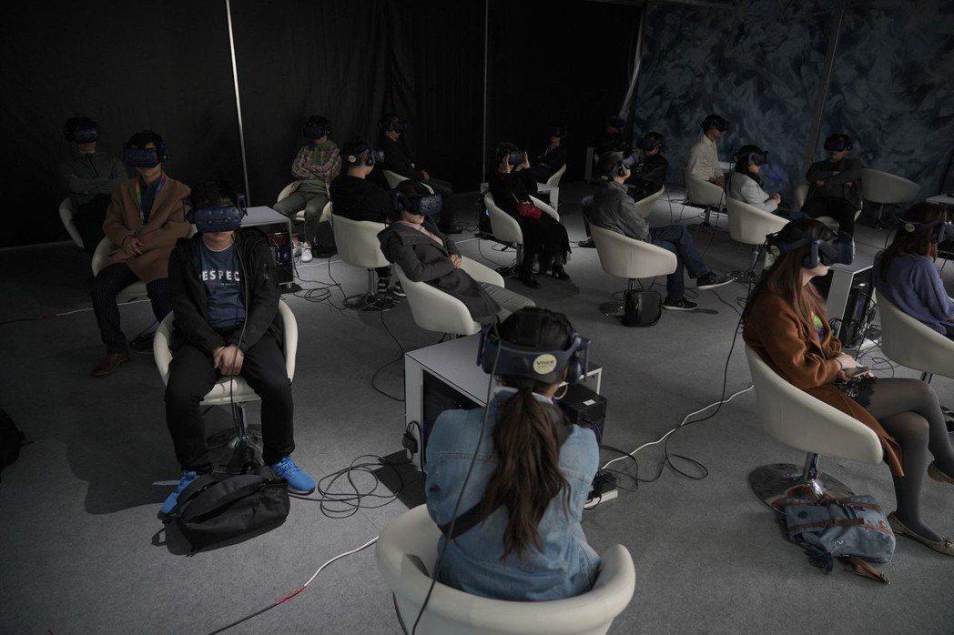 VR電影「家在蘭若寺」北京VR國際電影節參展吸引觀眾爭相體驗  圖/HTC VI...