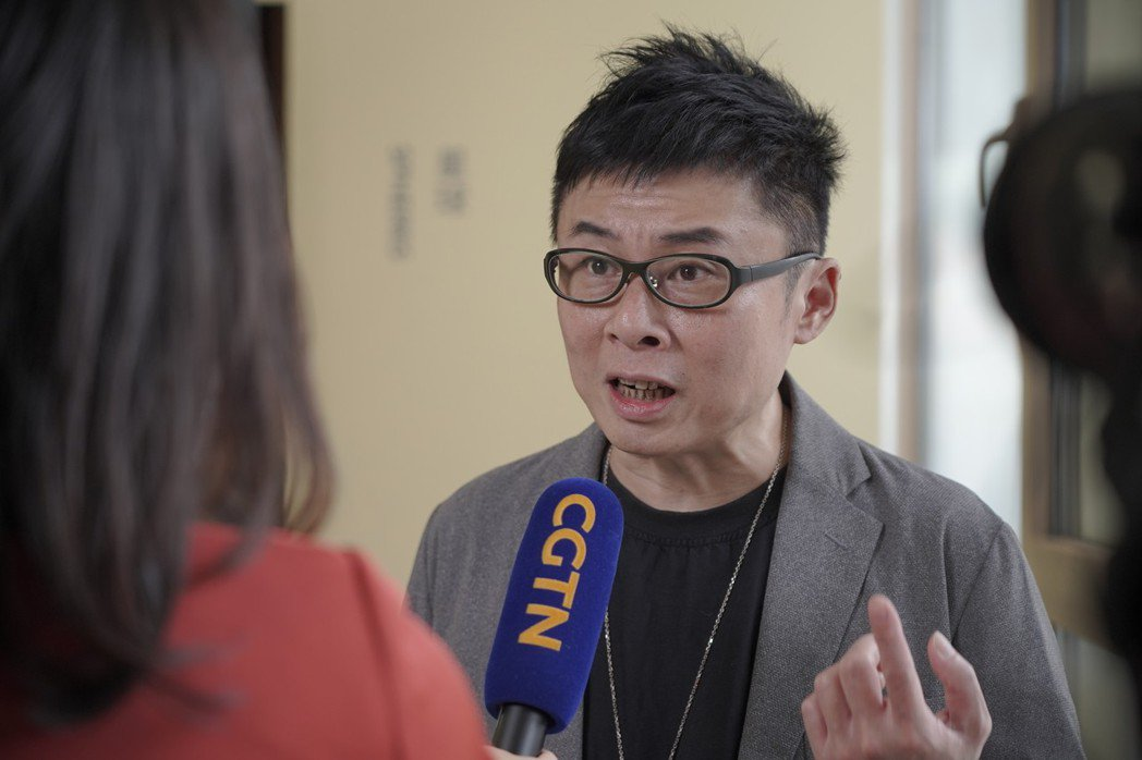 HTC VIVE ORIGINALS總經理劉思銘接受中國國際電視台訪問  圖/H...
