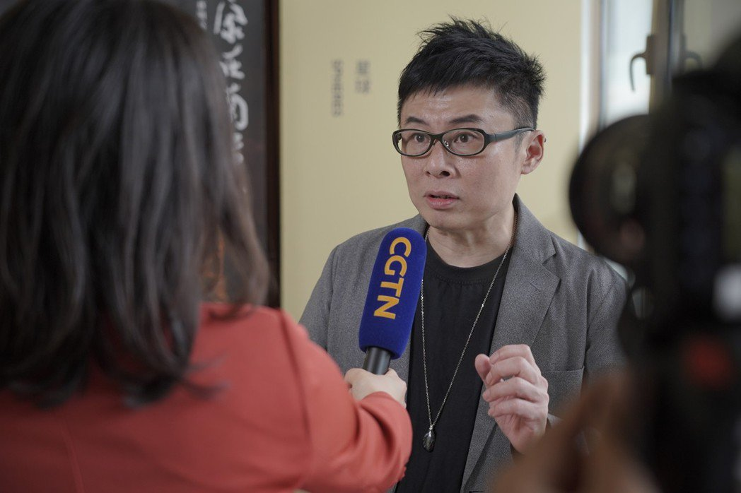 HTC VIVE ORIGINALS總經理劉思銘接受中國國際電視台訪問  圖/H