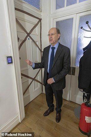 亞桑傑住過的臥室現已封鎖等待調查。厄瓜多駐英國大使馬辰(Jaime Marcha...