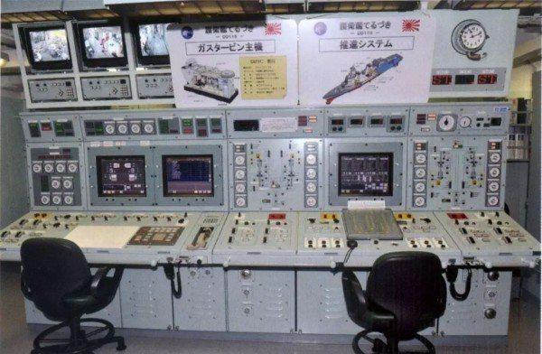 「涼月」號是日本秋月級通用驅逐艦的三號艦,有先進的動力控制艙。取自新華網