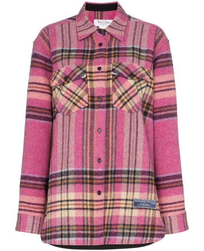 We11Done格紋上衣,售價26,900元。圖/MINOSHIN提供