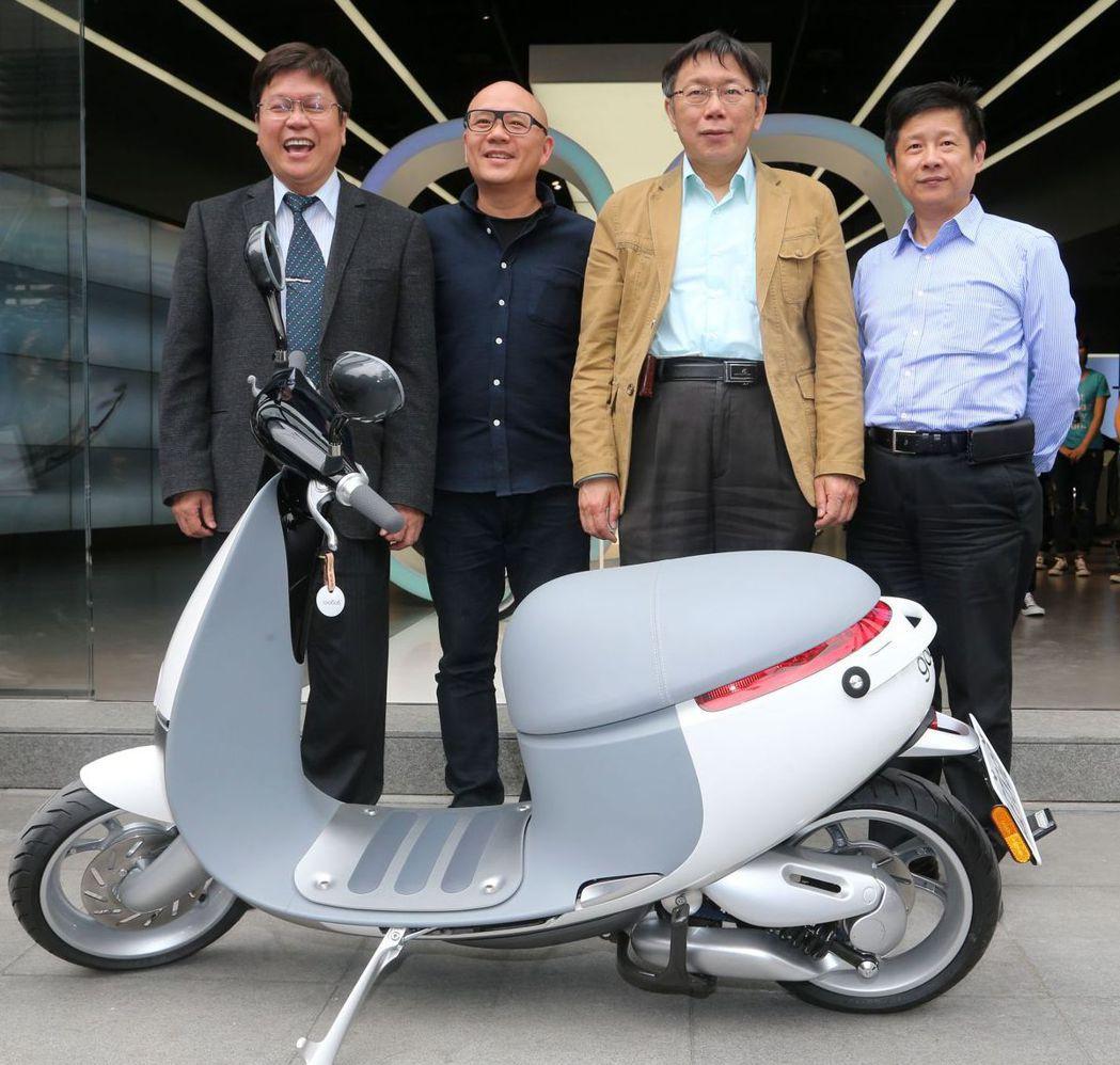汰換二行程並新購電動機車,台北市最高補助2萬元。 圖/聯合報系資料照片