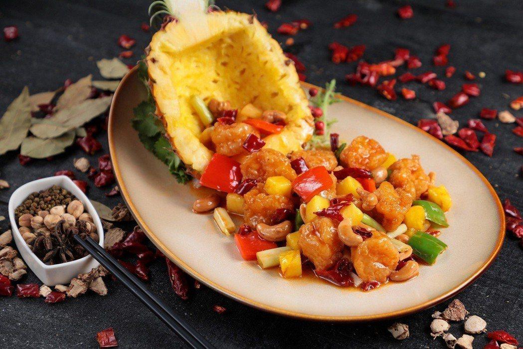 「宮保蝦球」是四川最家常的一道料理,所謂宮保就是大火爆炒的意思,特色在於酸中帶甜...
