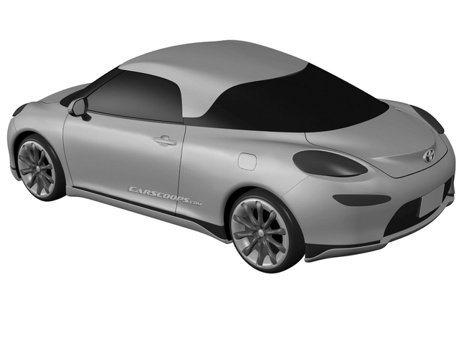 神秘Toyota專利設計圖曝光!新MR2中置後驅跑車還是EV電動車?